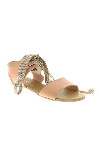 ippon vintage chaussures femme de couleur rose