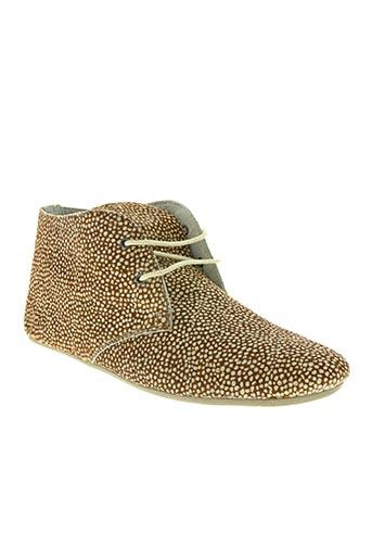 maruti chaussures femme de couleur marron