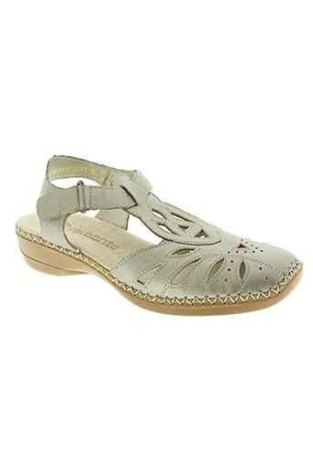 remonte chaussures femme de couleur beige