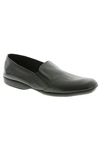 erel chaussures homme de couleur noir