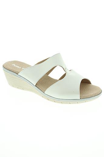 pedro torres chaussures femme de couleur blanc