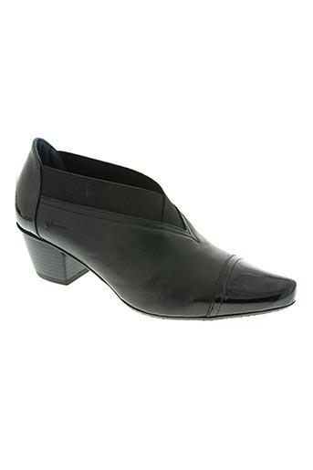 dorking chaussures femme de couleur noir