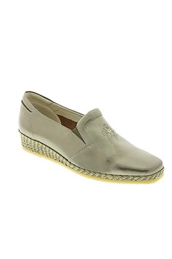 spiffy chaussures femme de couleur beige