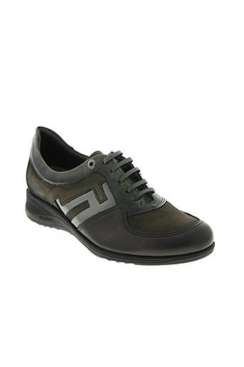 fluchos chaussures femme de couleur gris