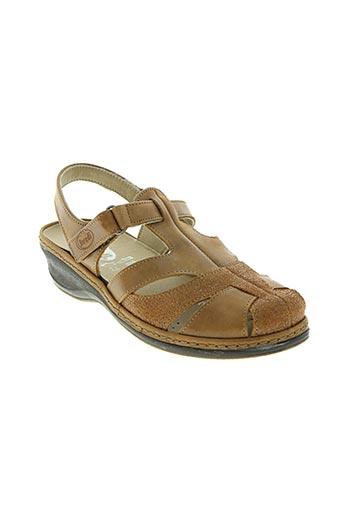 swedi chaussures femme de couleur marron