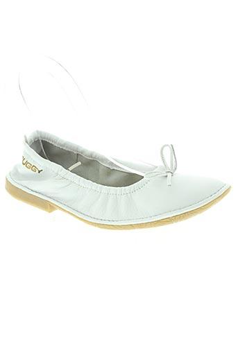 buggy chaussures femme de couleur blanc