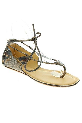 paradoxale chaussures femme de couleur marron