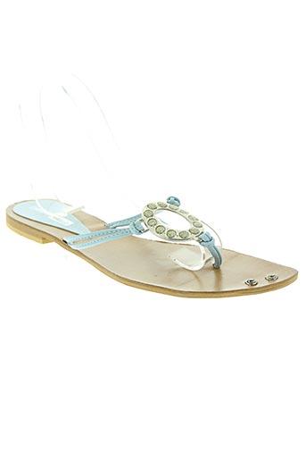 strade varie chaussures femme de couleur bleu