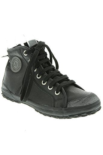 buggy chaussures garçon de couleur noir