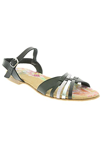 ayoka chaussures femme de couleur noir
