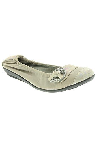 fugitive chaussures femme de couleur beige