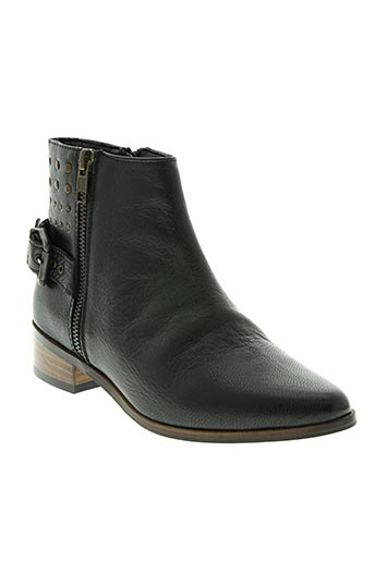 whooz chaussures femme de couleur noir