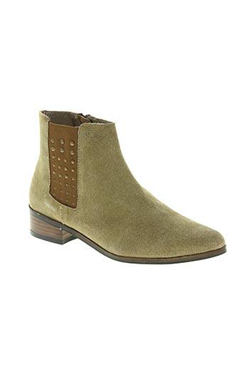 whooz chaussures femme de couleur beige