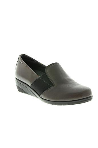 baerchi chaussures femme de couleur marron