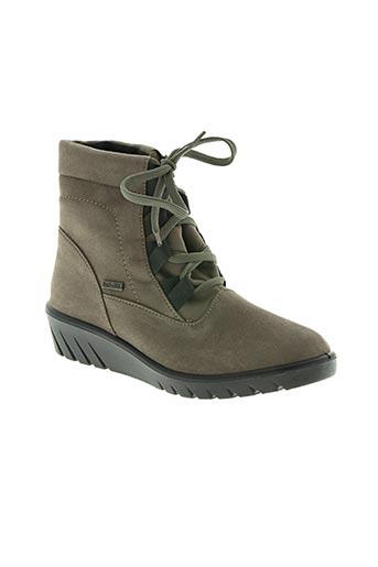 romika chaussures femme de couleur gris
