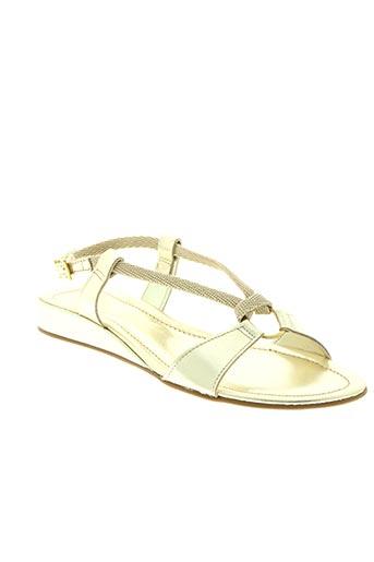 paradoxale chaussures femme de couleur jaune