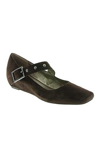 andrea tokio chaussures femme de couleur marron