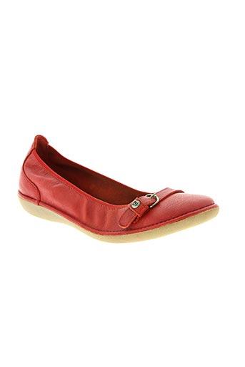 buggy chaussures fille de couleur rouge