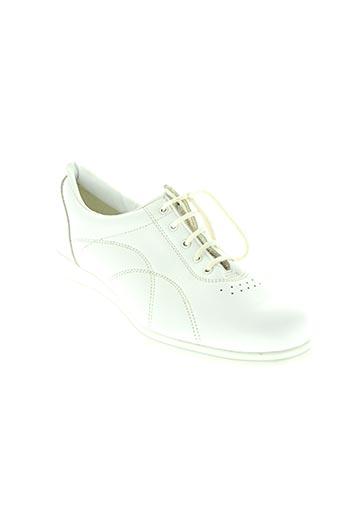 bopy chaussures femme de couleur blanc