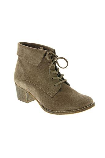 akane chaussures femme de couleur marron
