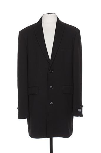 hafnium manteaux homme de couleur noir