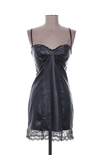 naory robes femme de couleur noir