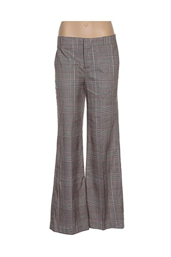 Pantalon chic marron DEBY DEBO pour femme