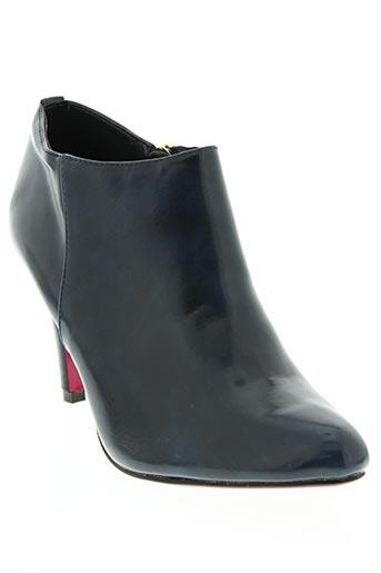 jm.diamant chaussures femme de couleur bleu