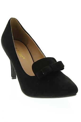 jm.diamant chaussures femme de couleur noir