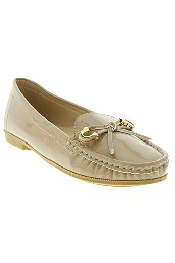 r and be chaussures femme de couleur beige