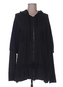 Veste casual noir CASSIOPEE pour femme