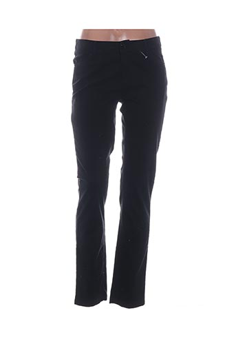 Pantalon casual noir AKELA KEY pour femme