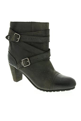 levis chaussures femme de couleur noir
