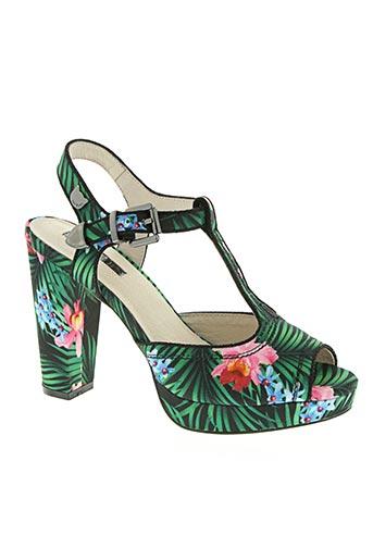 lollipops chaussures femme de couleur vert