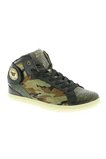 barons papillom chaussures femme de couleur vert