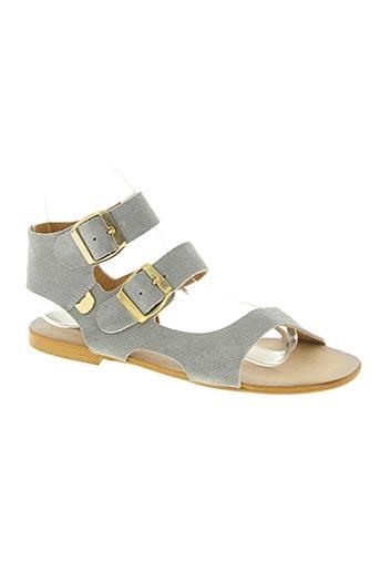 lollipops chaussures femme de couleur gris