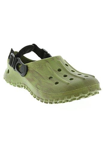 birki's chaussures enfant de couleur vert