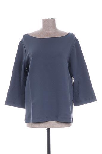 T-shirt manches longues gris YAYA pour femme