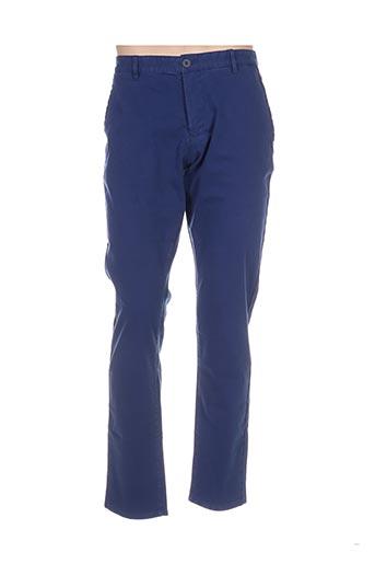 Pantalon casual bleu ONE STEP pour homme