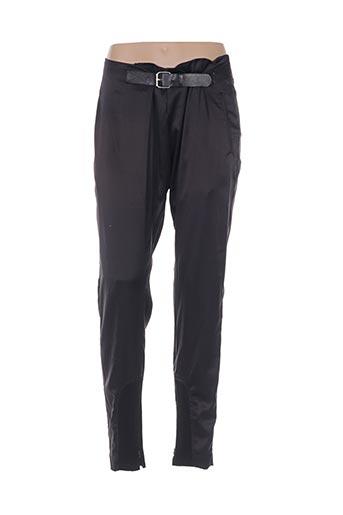 nü pantalons femme de couleur noir