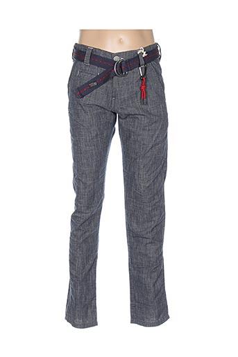 Pantalon casual bleu TIMEZONE pour homme