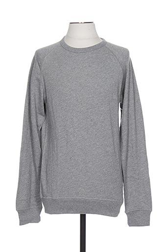 Sweat-shirt gris PREMIUM DE JACK AND JONES pour homme