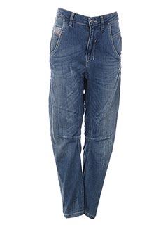 Jeans boyfriend bleu DIESEL pour fille