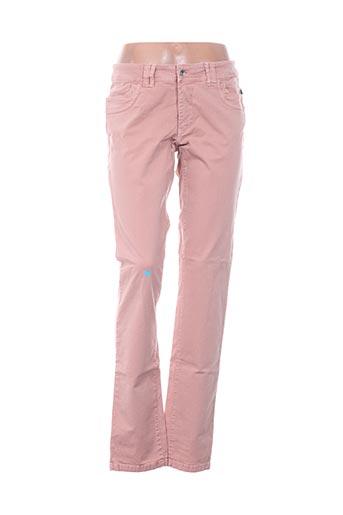 Pantalon casual rose D.T.C pour femme
