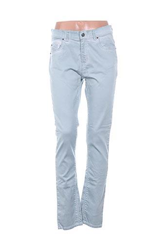 Pantalon casual bleu GAFAIR pour femme