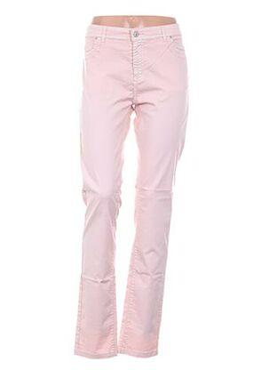 Pantalon casual rose CASSIS pour femme