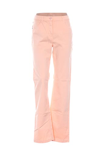 Pantalon casual orange D'AUVRY pour femme