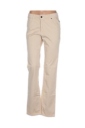 Pantalon casual beige D.T.C pour femme
