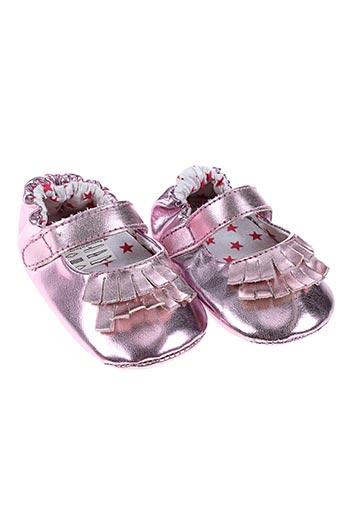 ikks chaussures fille de couleur rose