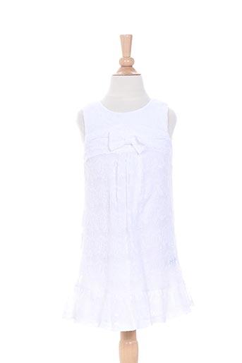 confetti robes fille de couleur blanc